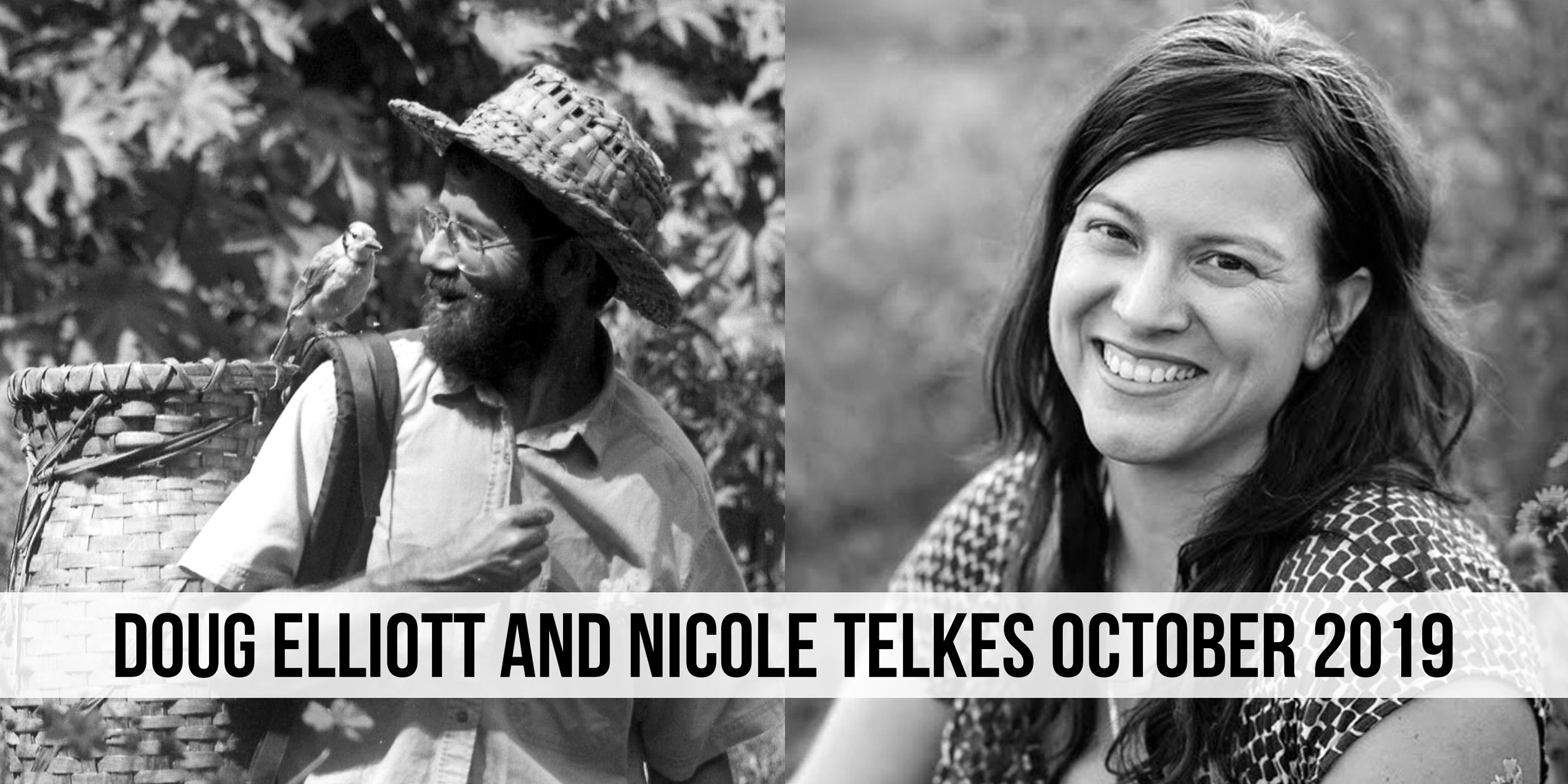 Doug Elliott and Nicole Talkes Free Herbalism Project Oct 2019