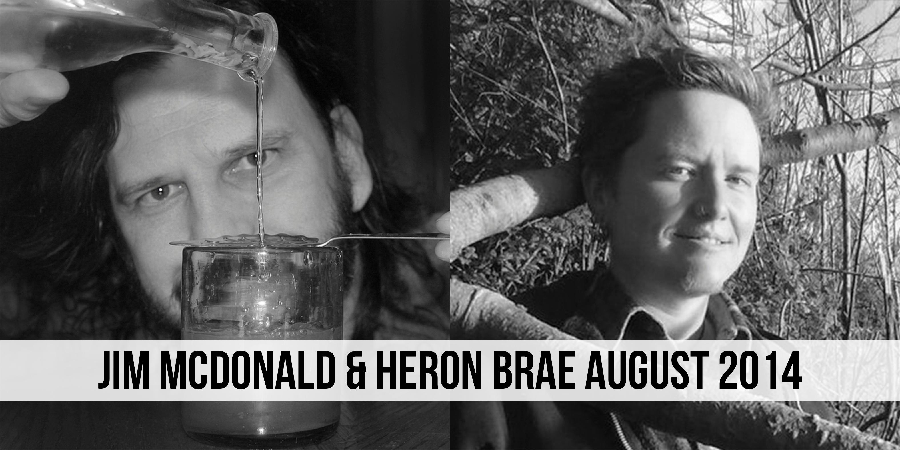 Jim Mcdonald and Heron Brae