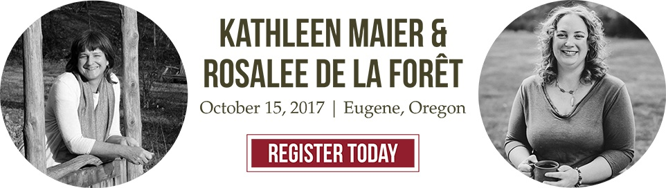Herbalism lecture and afternoon of herbal community with Kathleen Maier and Rosalee De La Foret event October 2017